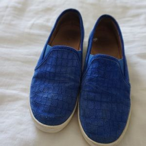 JOIE BLUE LOAFERS
